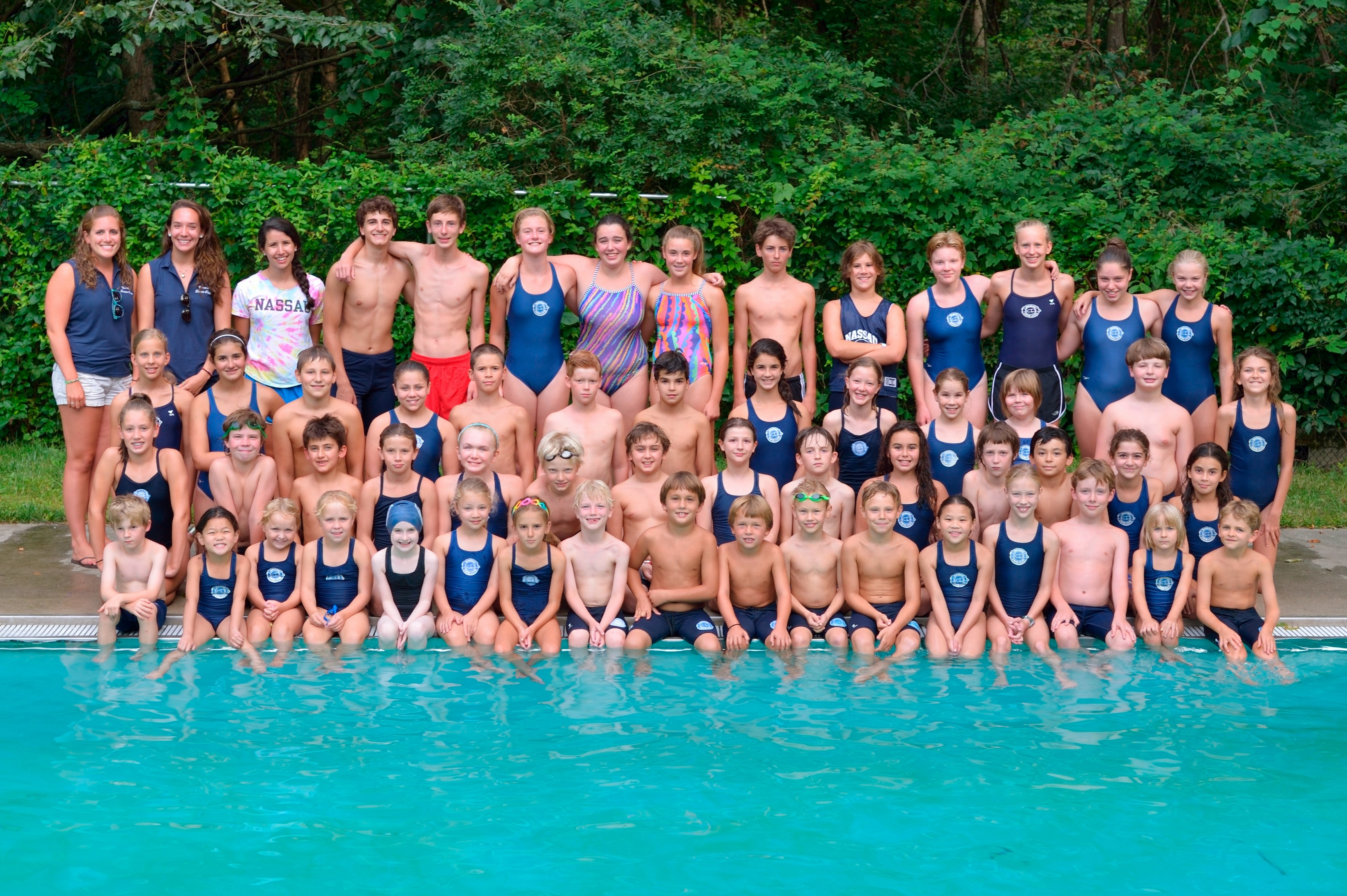 2014 Nassau Swim Team